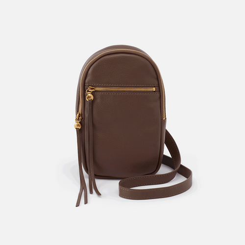 HOBO ACORN BROWN RYDER SLING BAG