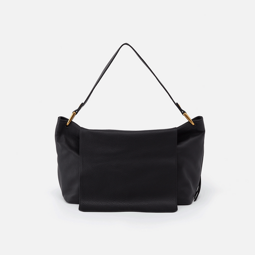 HOBO BLACK VENTURA SHOULDER BAG