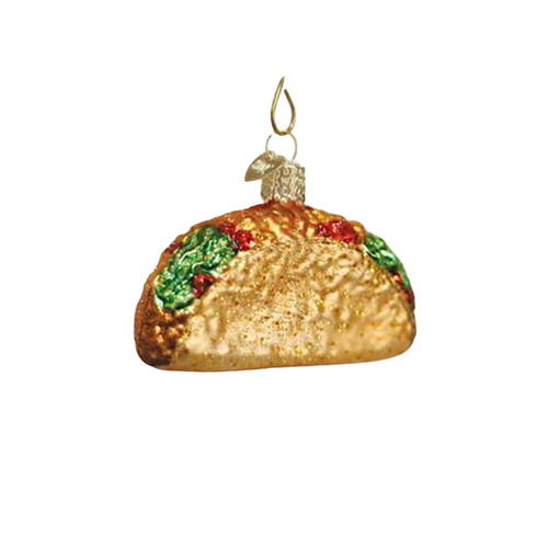 Old World Taco Christmas Ornament