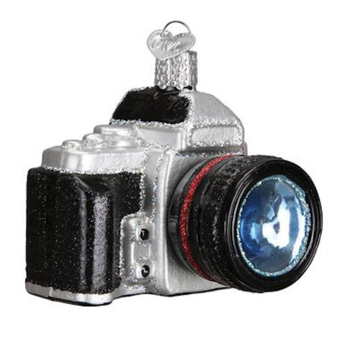 Old World Camera Christmas Ornament