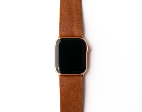 KEVA Watch Band - Brown Leather