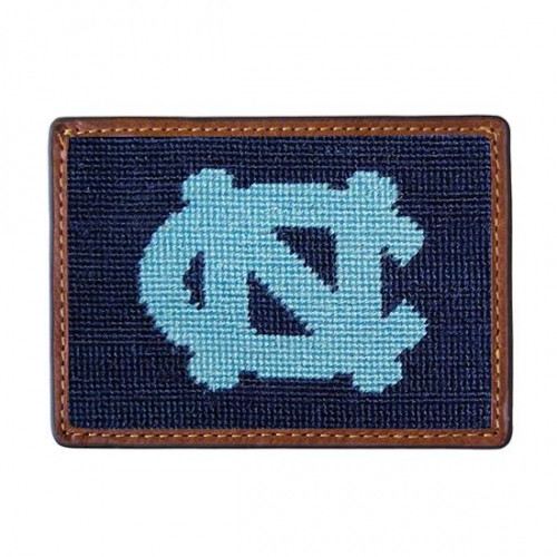 Smathers and Branson - UNC - University of North Carolina Credit Card Needlepoint Wallet
