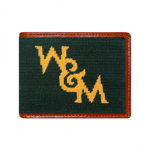 Smathers & Branson W&M - University of William & Mary Bi-fold Needlepoint Wallet