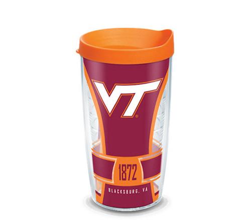 Tervis Tumbler 16oz Virginia Tech Hokies Spirit