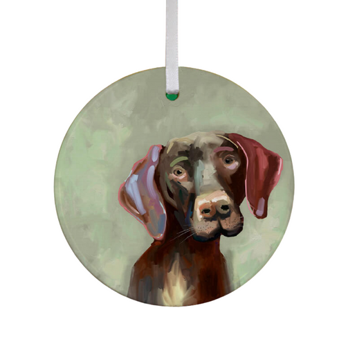 German Short-Haired Pointer Ornament