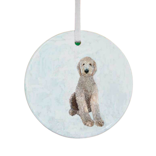 All Legs Labradoodle Ornament