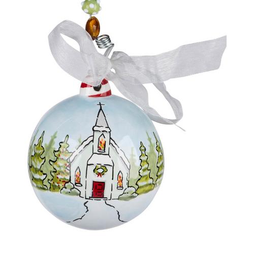 Christmas Church Ornament