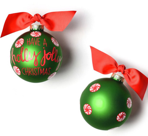 Coton Colors Ornament - Holly Jolly