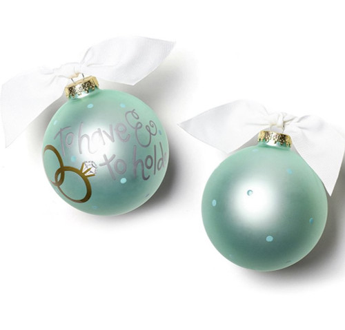 Coton Colors Ornament - To Have & To Hold