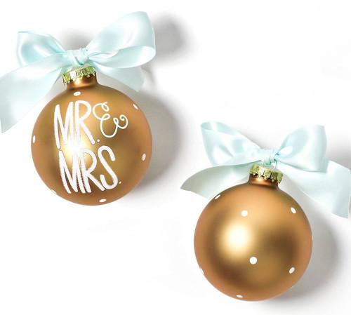 Coton Colors Ornament - Mr. & Mrs.
