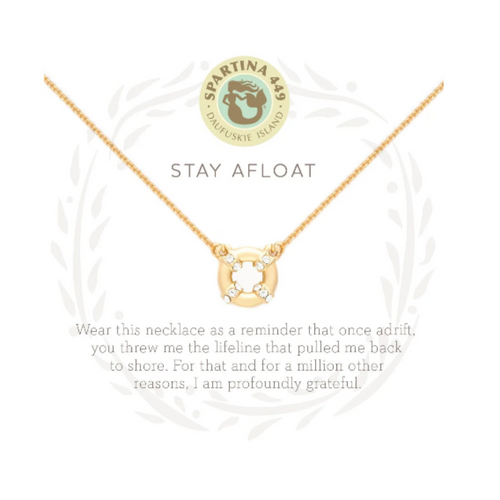 Spartina Sea La Vie Necklace - Stay Afloat