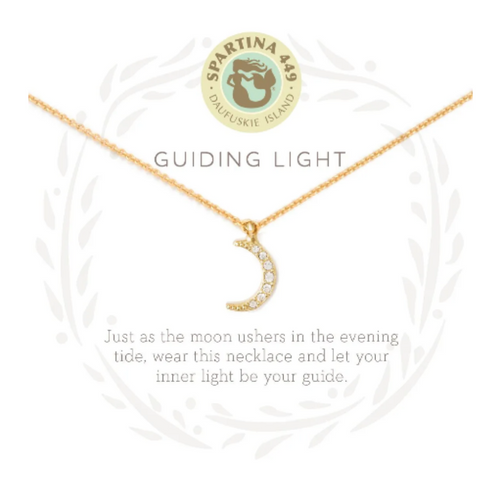 Spartina Sea La Vie Necklace - Guiding Light Moon