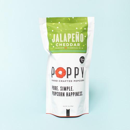 Poppy Popcorn - Jalepeno Cheddar Market Bag