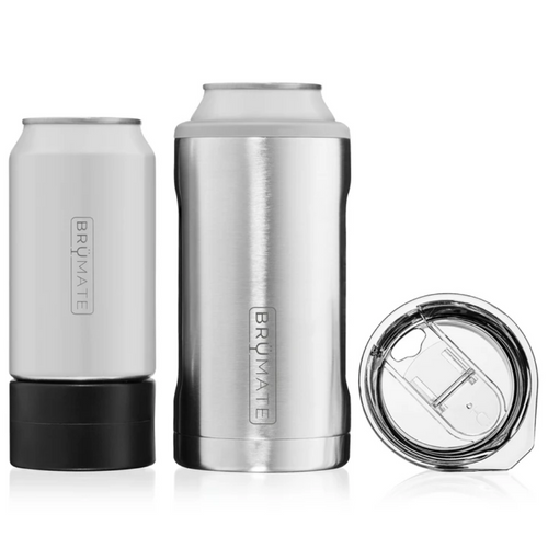 Brumate Hopsulator Trio 3-in-1 Can Cooler - Stainless