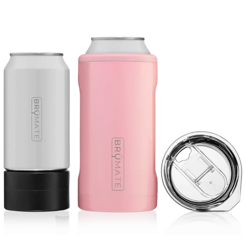 Brumate Hopsulator Trio 3-in-1 Can Cooler - Blush