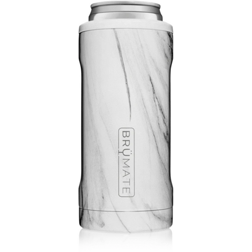Brumate 12oz Slim Can Cooler - Carrara White