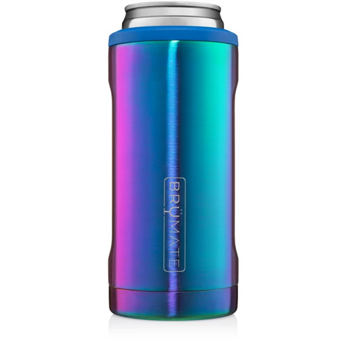 Brumate 12oz Slim Can Cooler - Rainbow Titanium