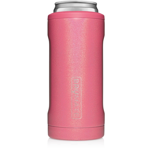 Brumate 12oz Slim Can Cooler - Glitter Pink