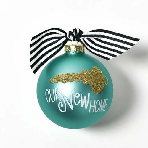 Coton Colors Ornament - Key to Our New Home