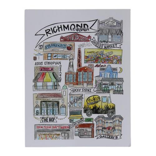 Richmond Classics  8.5x11 Art Print - Version 3