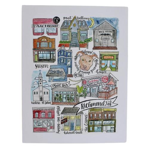 Richmond Classics  8.5x11 Art Print - Version 4