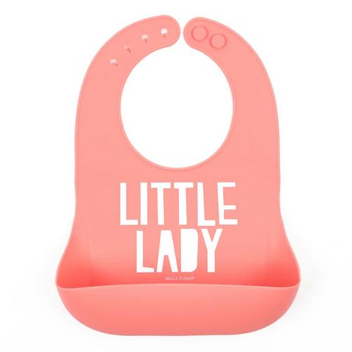 Little Lady Silicone Bib