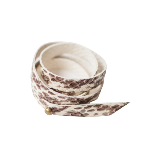 Snakeskin Wrap Christy Bracelet
