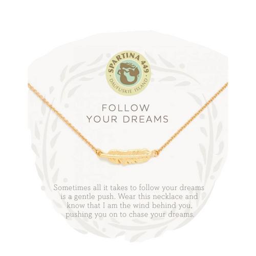 Spartina Sea La Vie Necklace - Follow Your Dreams