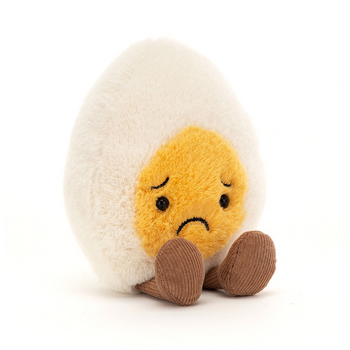 Sad Boiled Egg Plush