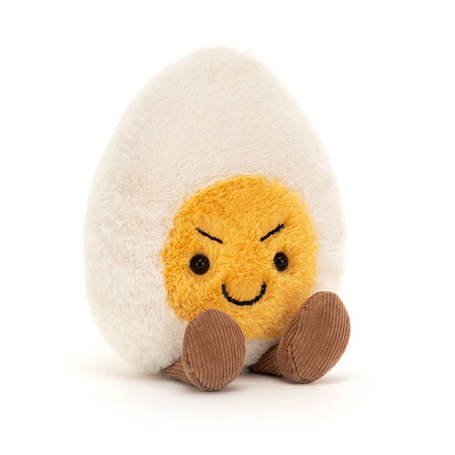 Mischievous Boiled Egg Plush