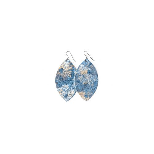Keva Small Leather Earrings - Maymont