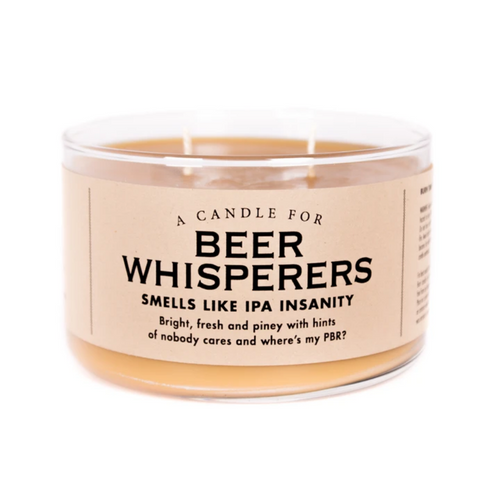 Beer Whisperers Candle
