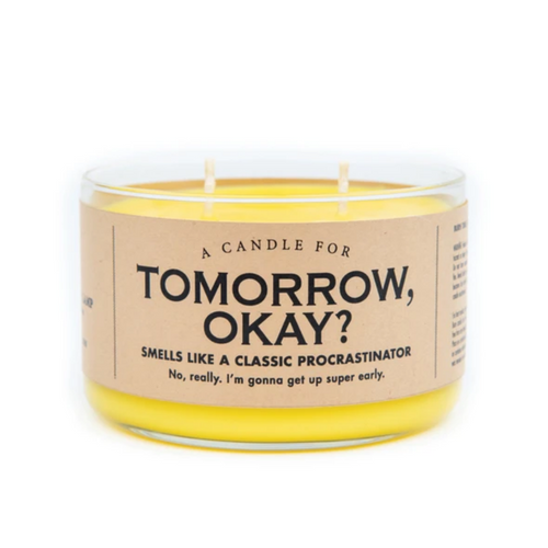 Tomorrow, Okay? Candle