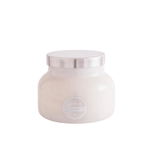 Volcano White Signature Jar Candle