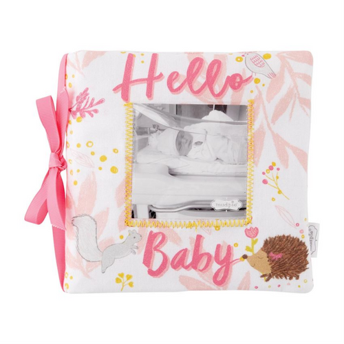 Hello Baby Book - Pink