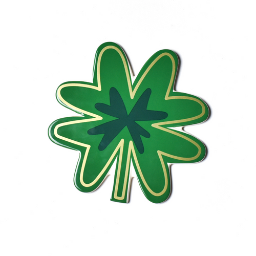 Happy Everything Large Attachment - Four Leaf Clover