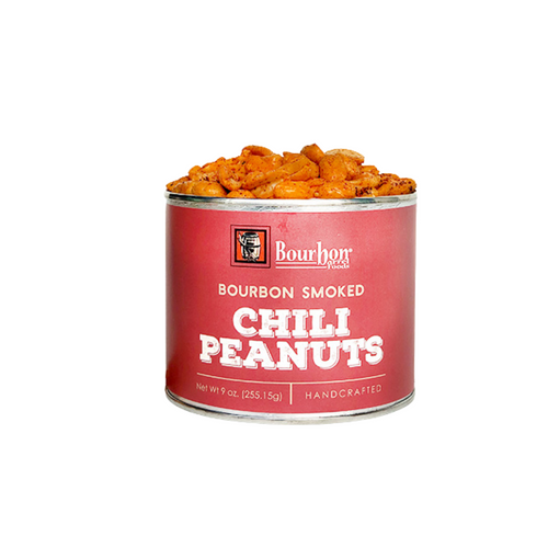 Bourbon Smoked Chili Peanuts