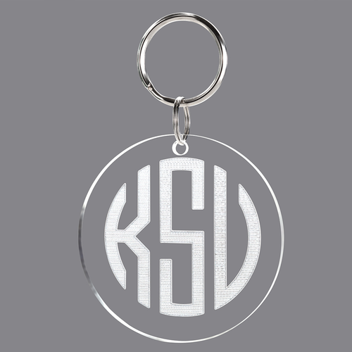 Engraved Acrylic Key Fob