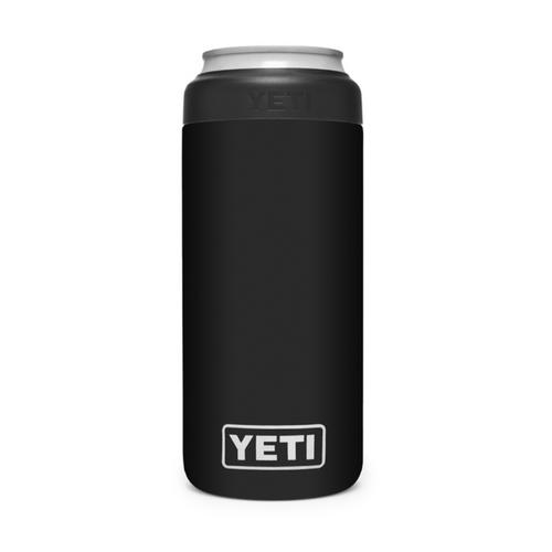 Yeti Slim Can Cooler - Black