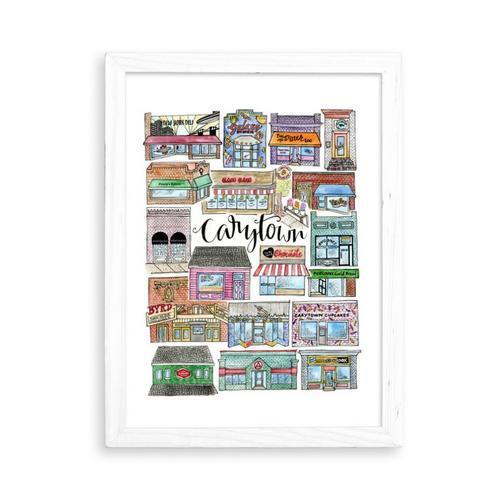 Carytown 8.5x11 Art Print