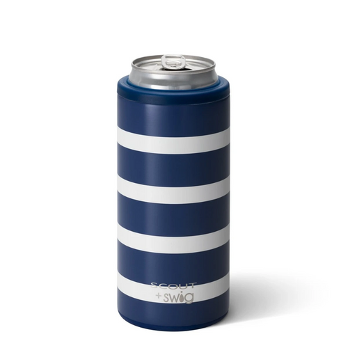 Skinny Can Cooler - Nantucket Navy
