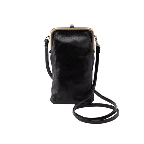 Melody Wristlet/Crossbody Bag - Black
