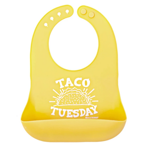 Taco Tuesday Silicone Bib