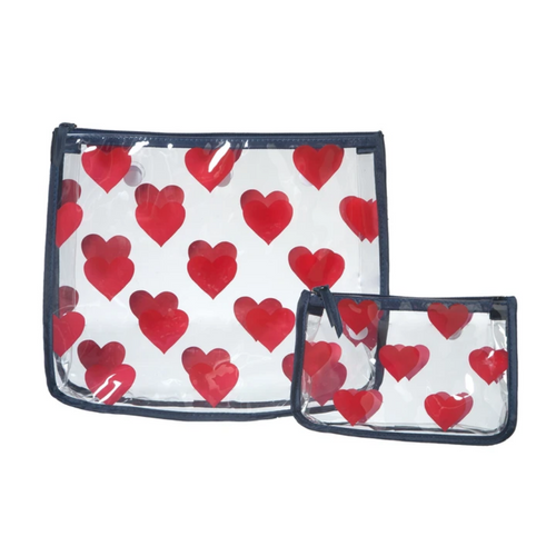 Bogg Bag S/2 Decorative  Insert - Hearts