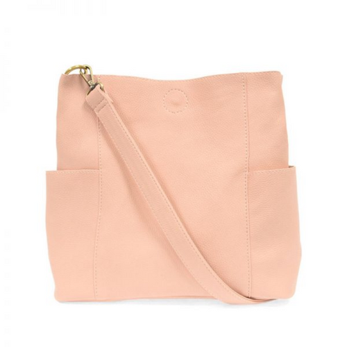 Joy Susan - Kayleigh Side Pocket Bucket Bag - Petal