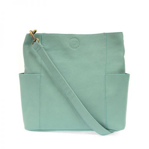 Joy Susan - Kayleigh Side Pocket Bucket Bag - Turquoise