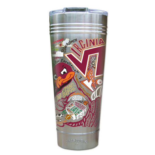 Virginia Tech Thermal Tumbler
