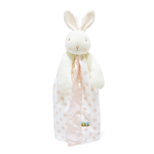 Blossom Dot Bunny Buddy Blanket