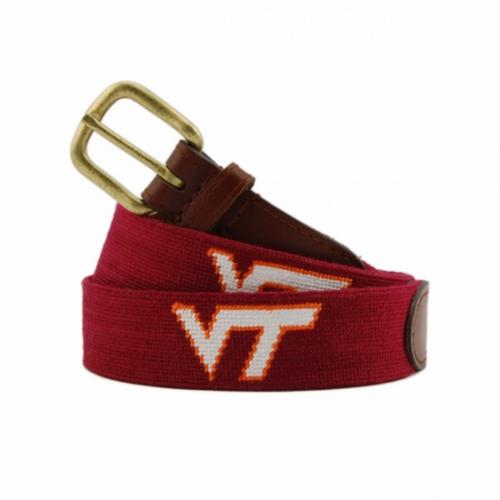 Needlepoint Belt - Virginia Tech