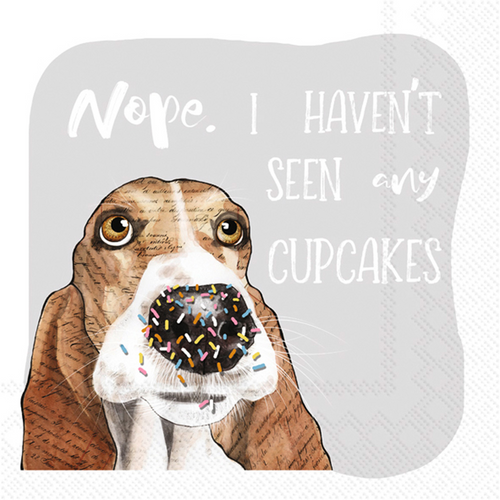 Sprinkles Dog - Cocktail Napkins